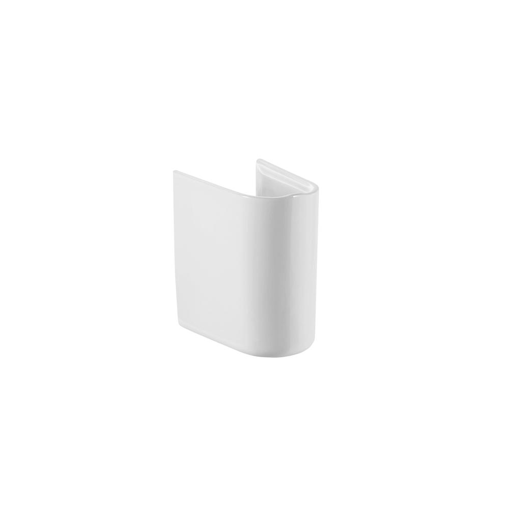 Semipiedestal pentru lavoar Roca Debba, 200 x 290 x 315 mm, ceramica sanitara, alb mathaus 2021