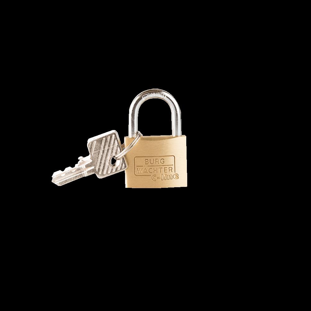 Lacat din alama, Burg Wachter 222 C-Line, l 35mm, 2 chei mathaus 2021