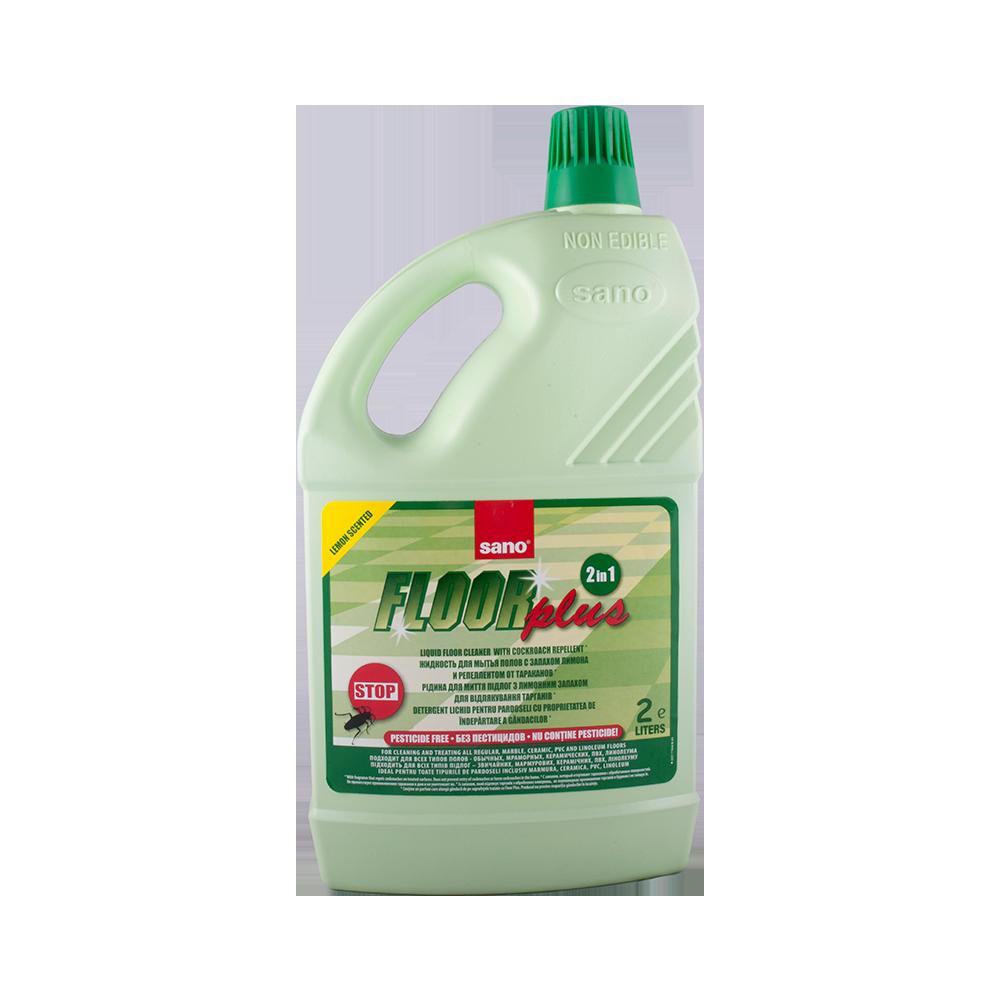 Detergent pardoseli Sano Floorplus Antigandaci 2 L imagine MatHaus.ro