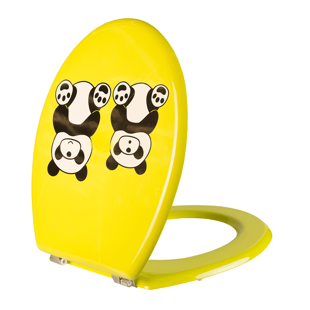 Capac pentru WC Romtatay Panda, MDF, 425 x 365 x 16 mm