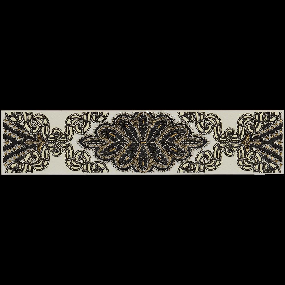 Brau faianta negru Organza 5, 6,2 x 27,5 cm