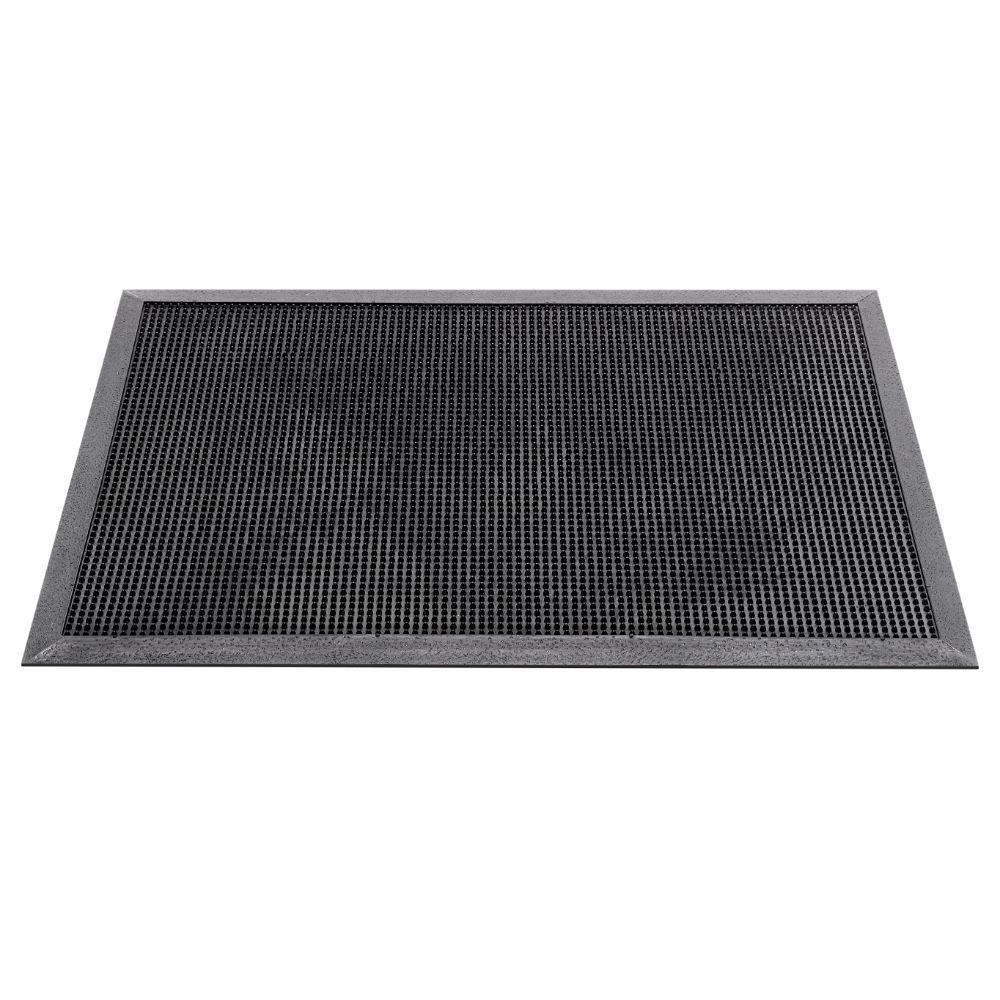 Stergator intrare exterior Fingertip 355, negru, 100 x 60 cm mathaus 2021