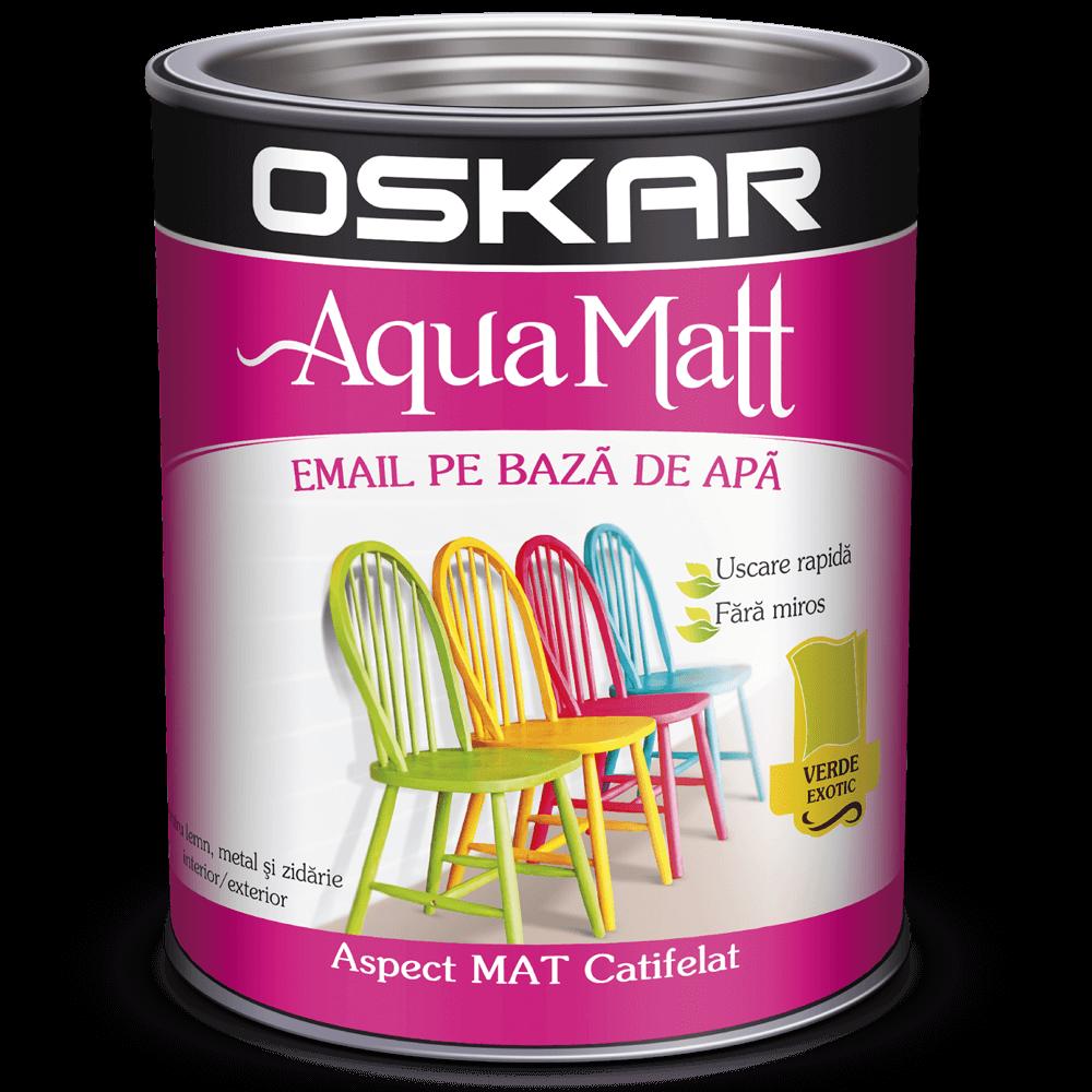 Email Oskar Aqua Matt verde 0,6 L imagine MatHaus.ro