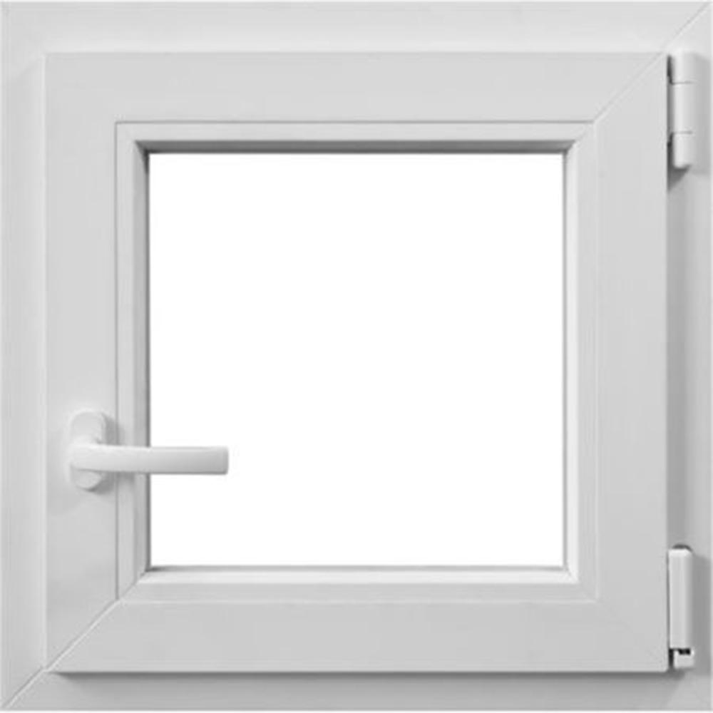 Fereastra PVC, 5 camere, alb, 56 x 56 cm, deschidere simpla dreapta imagine MatHaus.ro