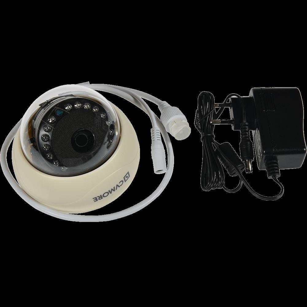 Camera de supraveghere IP CVMORE Security Dome, infrarosu, senzor miscare, interior