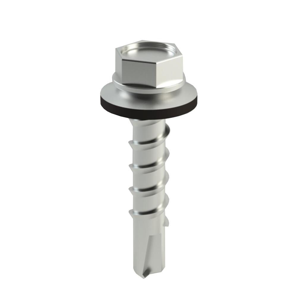 Suruburi autoforante metal , vopsite rosu RAL 3011, MC 5,5 x 25 mm, 250 buc/cutie imagine 2021 mathaus
