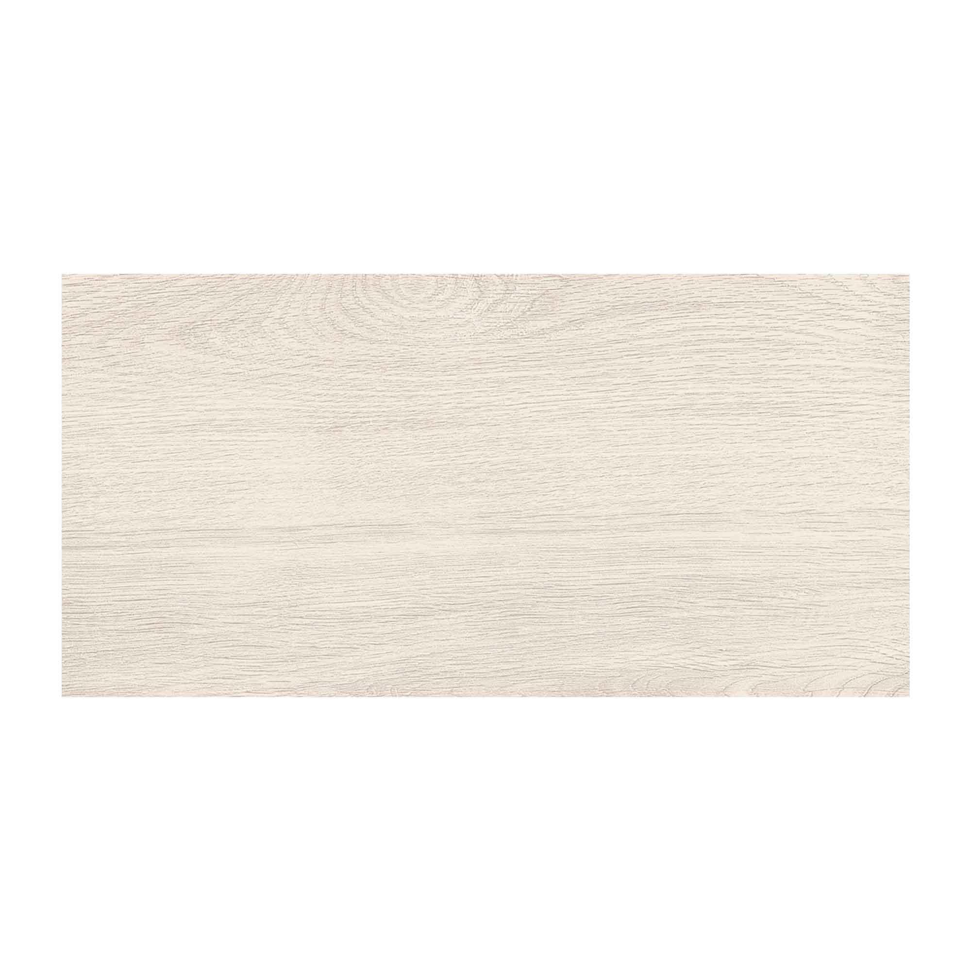 Gresie portelanata Cesarom Canada PEI 5 alb structurat mat, dreptunghiulara, 30 x 60 cm