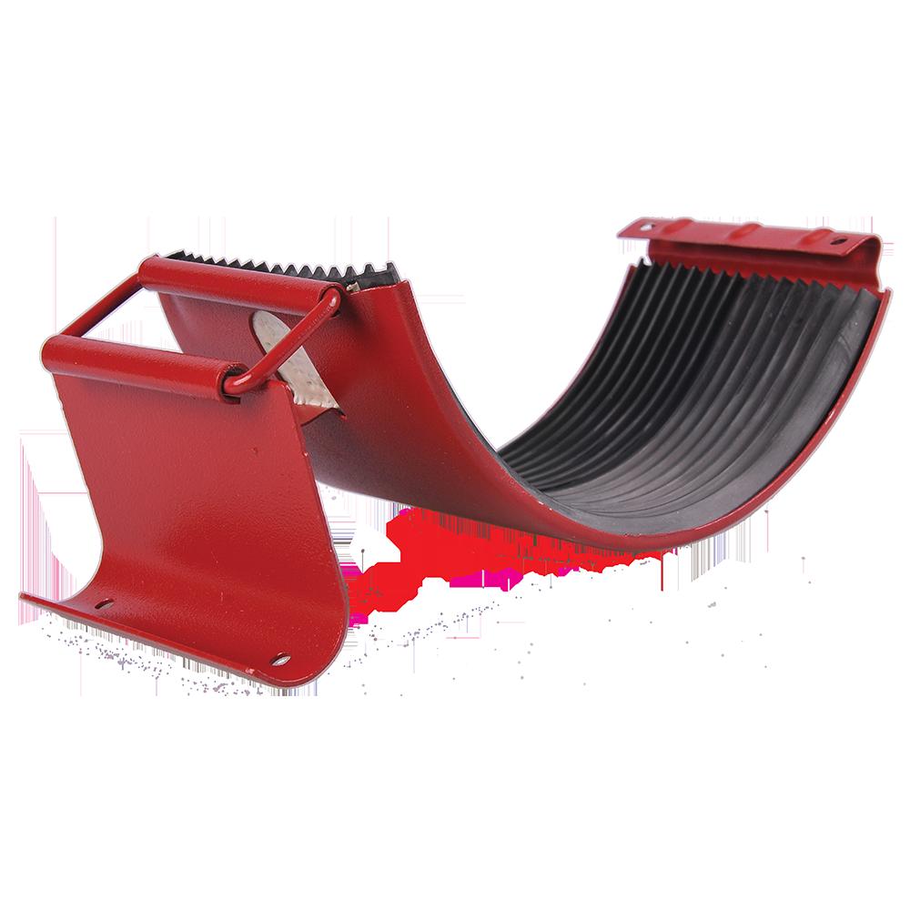 Imbinare jgheab, metalica, 125 mm, rosu RAL 3011