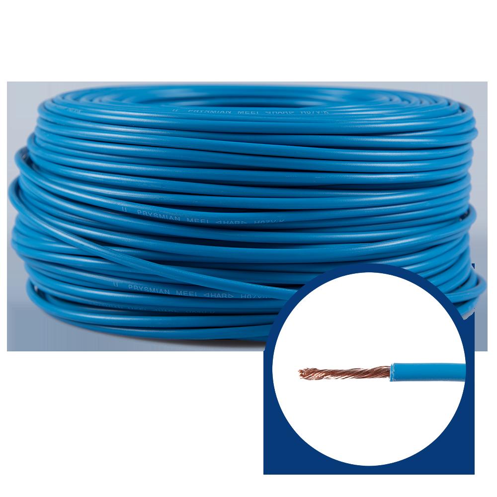 Cablu electric MYF (H05V-K) 2.5 mmp, izolatie PVC, albastru imagine 2021 mathaus