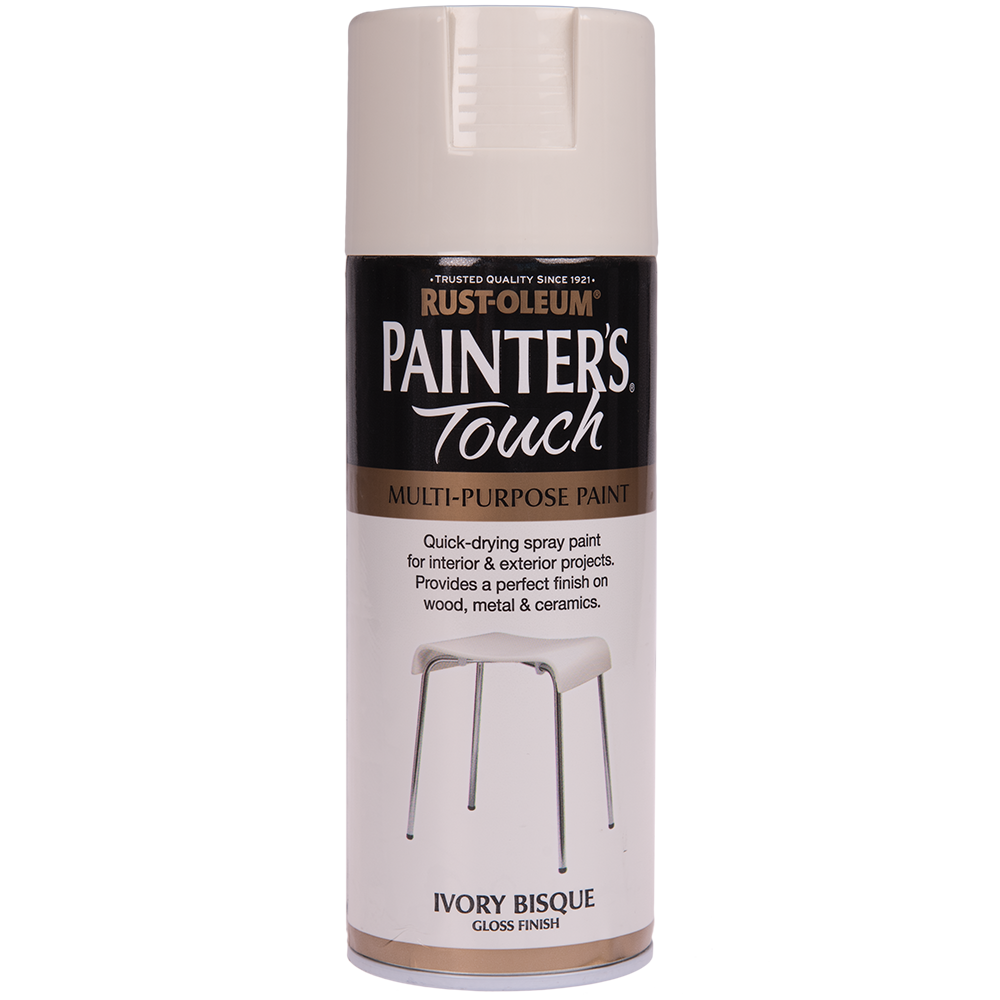 Spray Rust-Oleum Painter`s Touchs, lucios, ivoriu (ivory bisque), 400 ml mathaus 2021