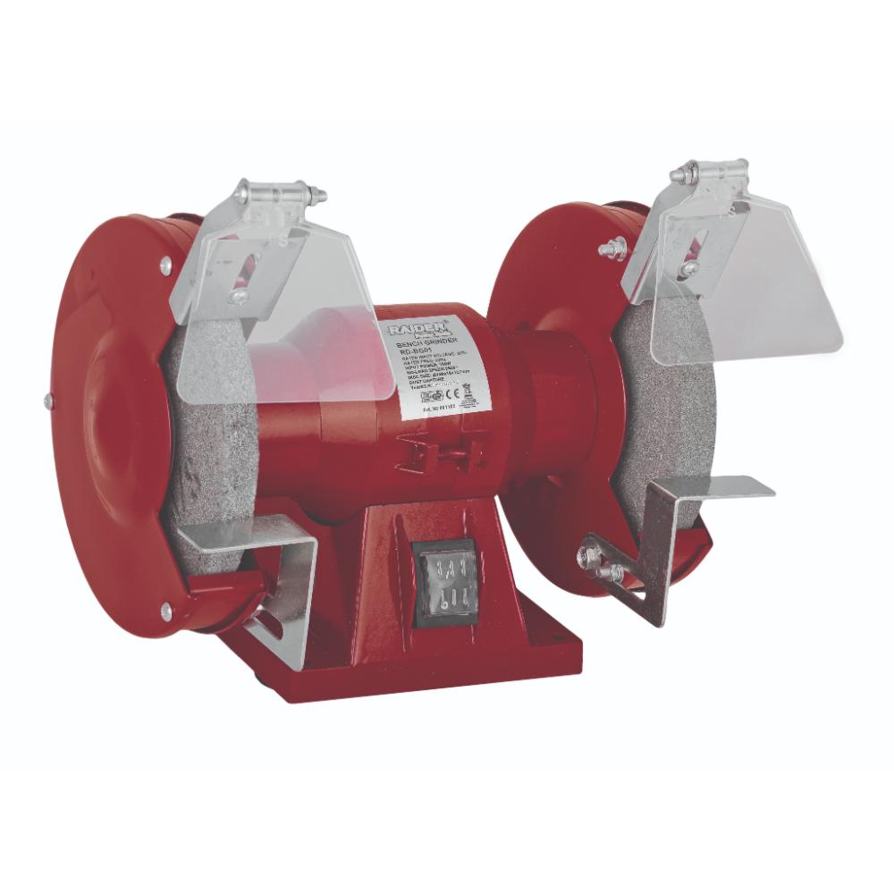Polizorul de banc Raider BG01, 150 mm, 150 W, 2950 rpm imagine MatHaus.ro