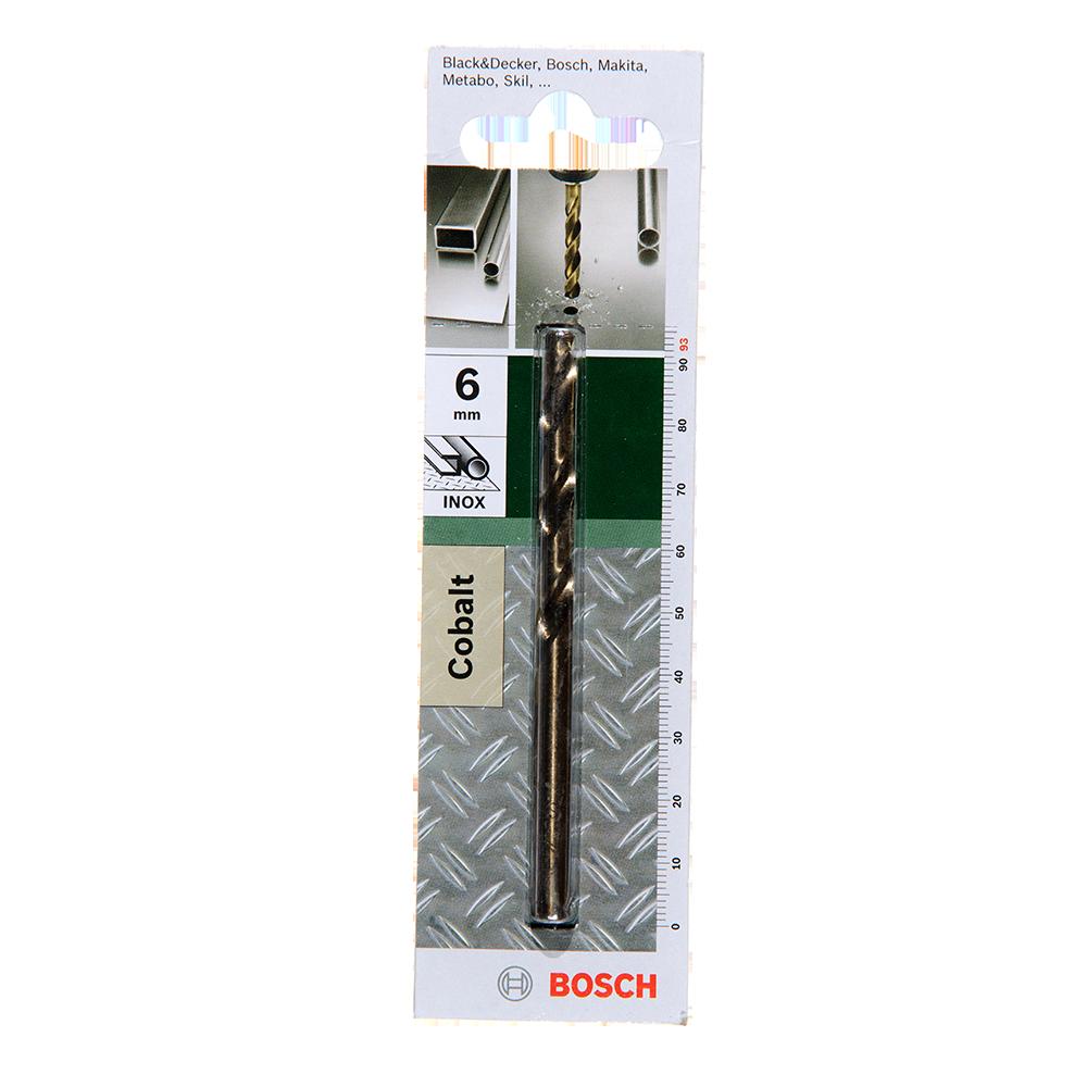 Burghiu Bosch HSS-Co DIN 338, mandrina standard, pentru metal, 6 mm imagine 2021 mathaus