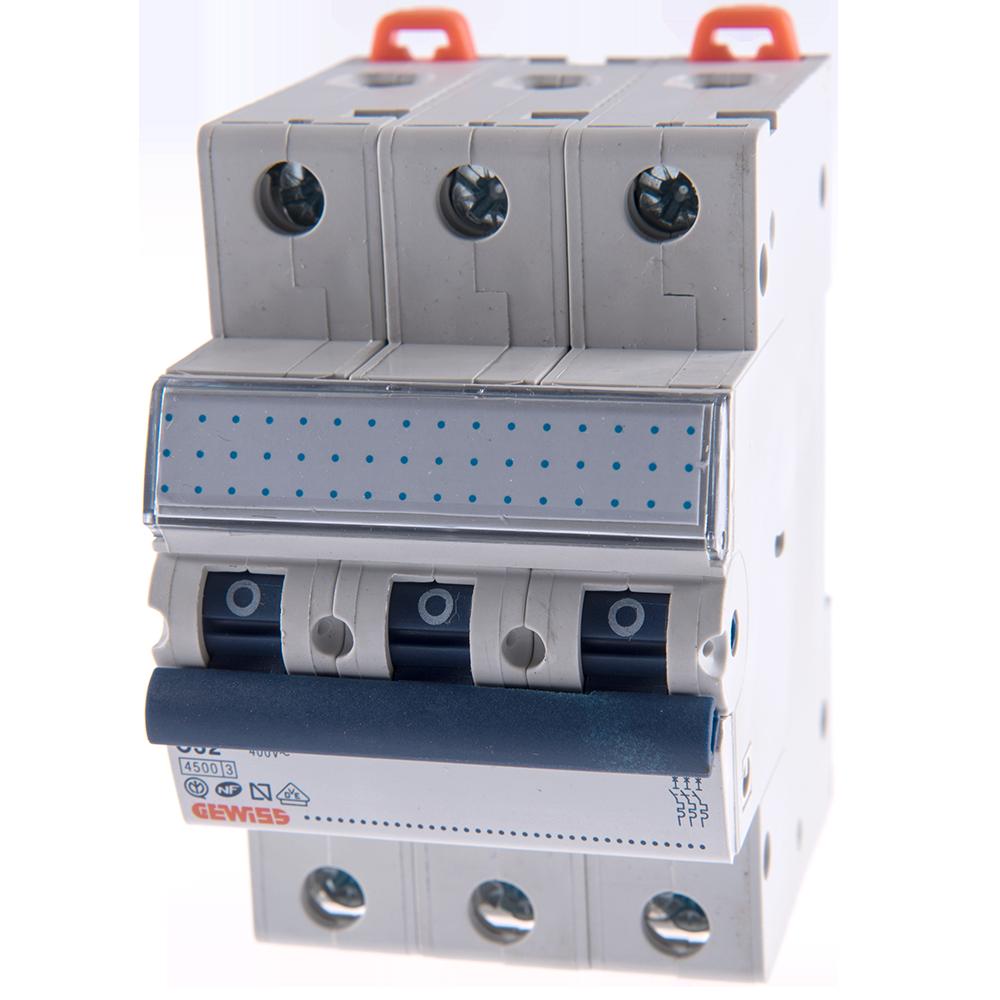 Disjunctor MCB 3P 4.5KA C32 GW92171 imagine MatHaus.ro