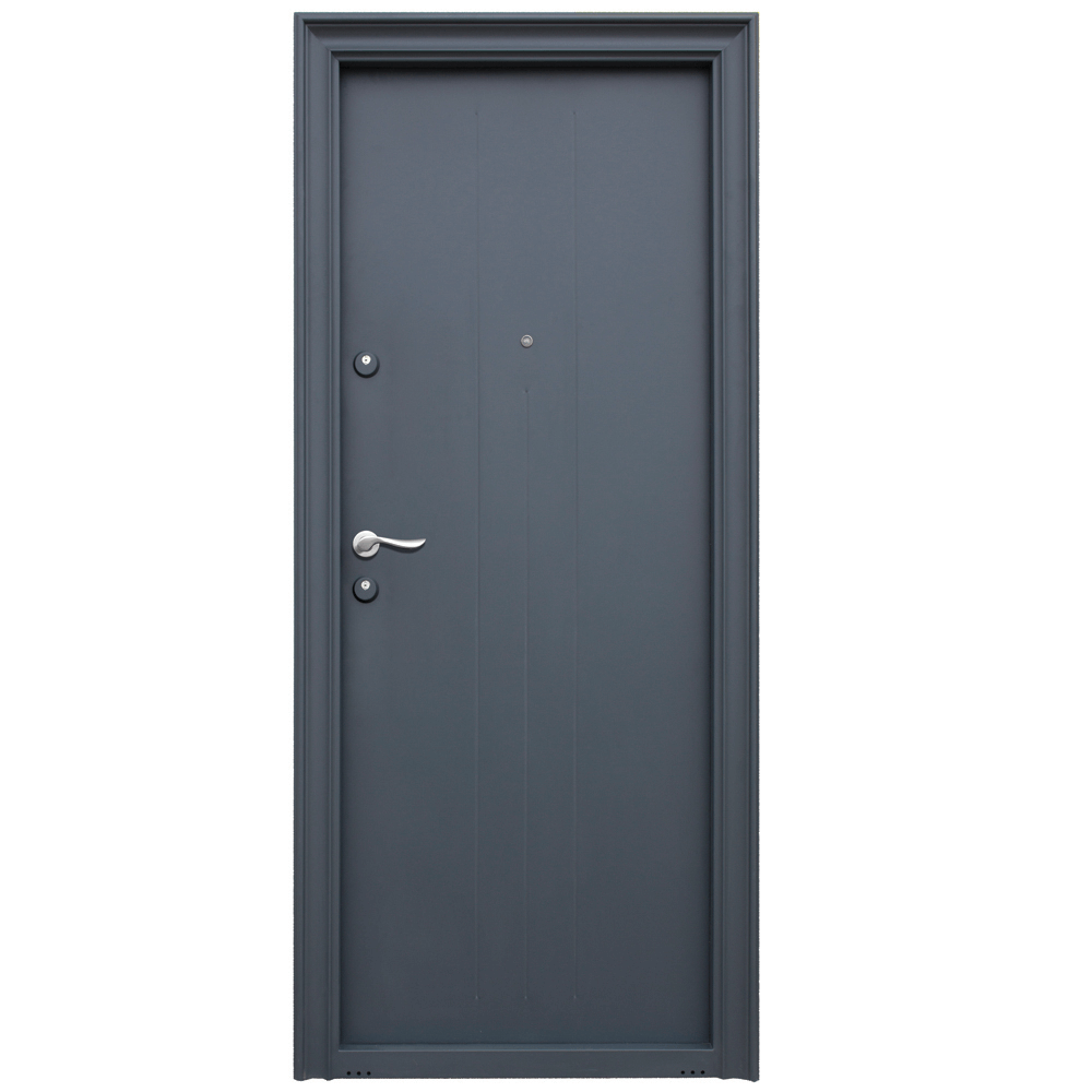 Usa metalica intrare Malva, 880 x 2050 mm, deschidere dreapta, culoare RAL7016 imagine 2021 mathaus