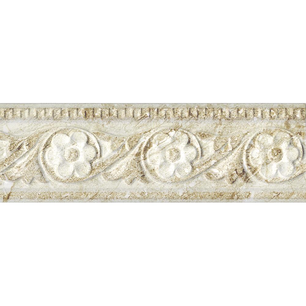 Brau pentru faianta Antique, bej, mat, 10 x 30 cm imagine 2021 mathaus