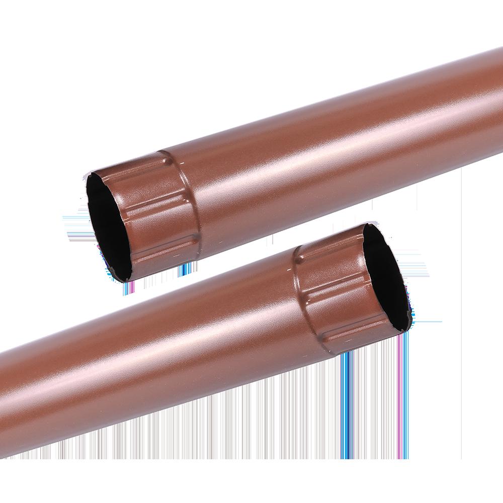 Burlan metalic, 88 mm, maro RAL 8017, L= 3 m