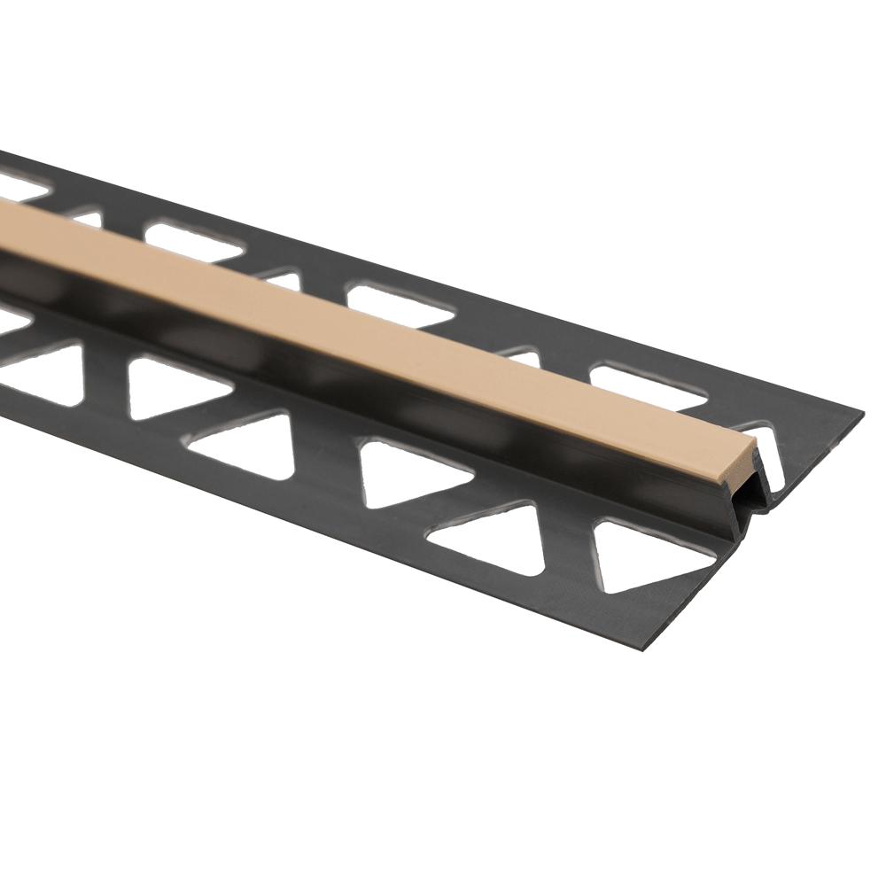 Profil de dilatatie din PVC in culoare bej, model 25210-2105, 2,5 m imagine 2021 mathaus