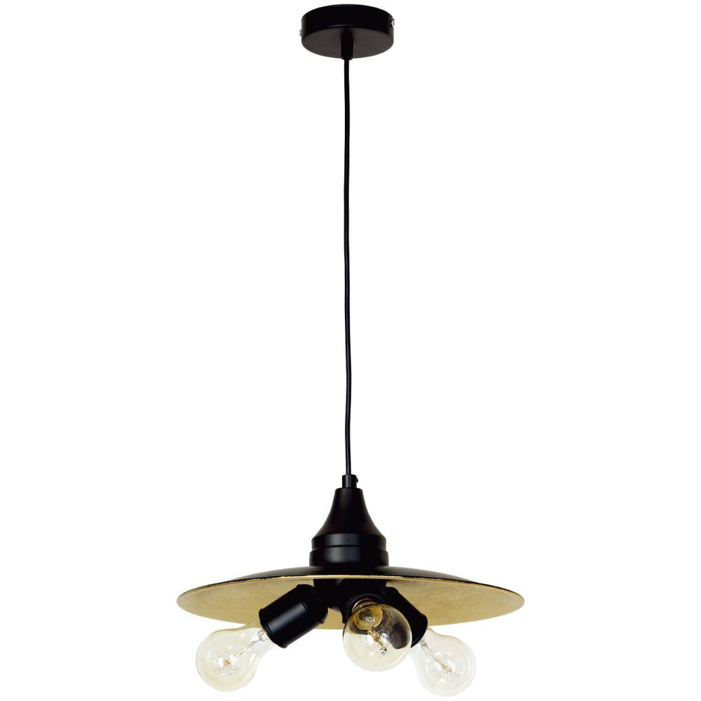 Lustra Tripper, 3 x E27, negru+auriu, 320 x 900 mm mathaus 2021