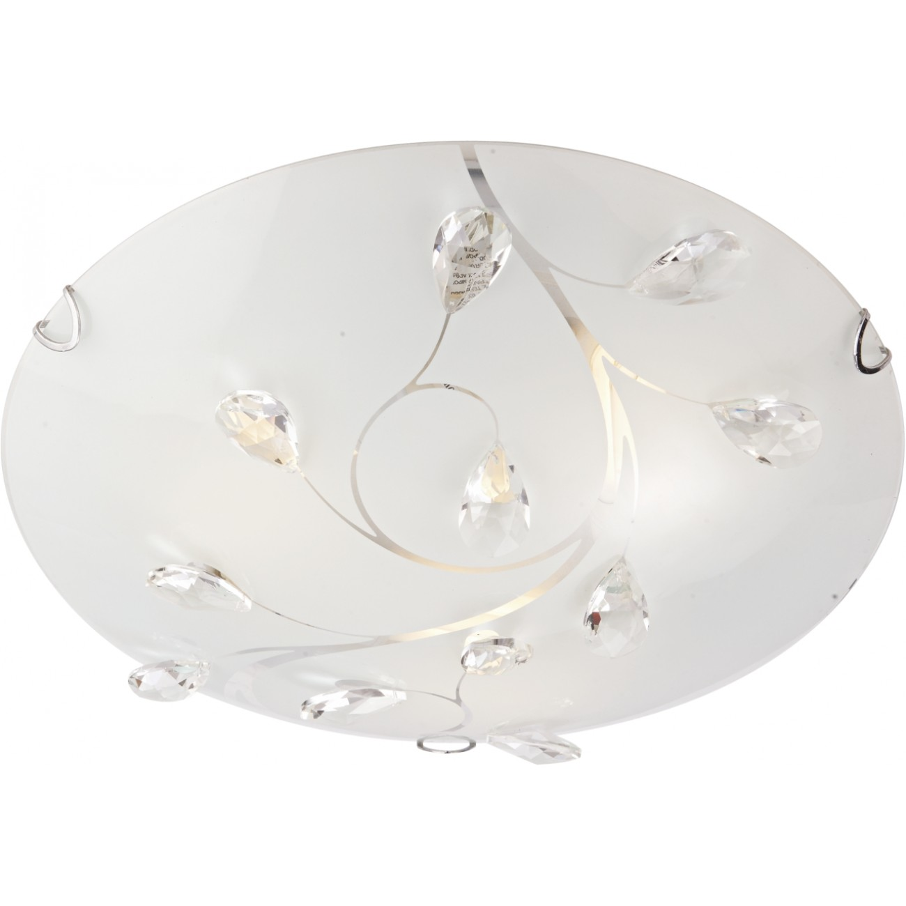Plafoniera Seti PL3 KL 5805, abajur sticla, 3 x E27, 60W, 40 cm mathaus 2021
