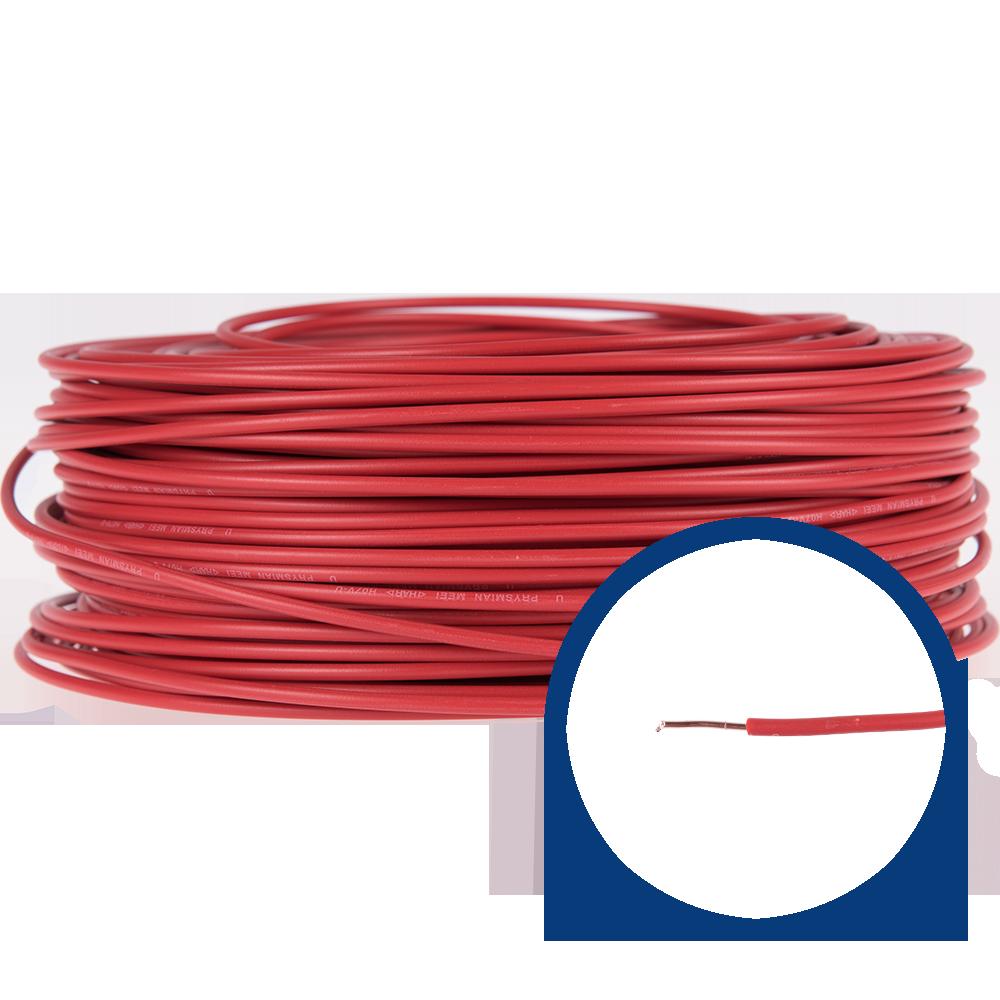 Cablu electric FY/ H07V-U 1,5 mm rosu