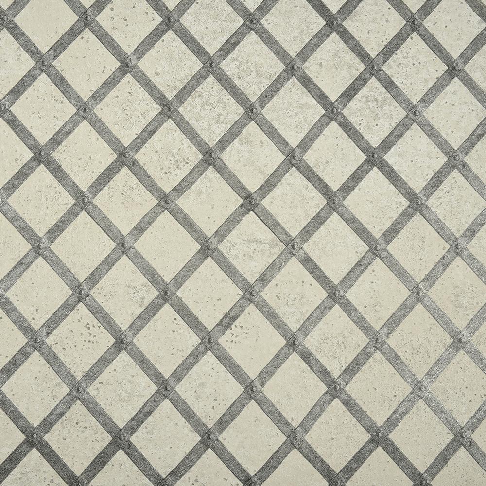 Tapet Raw Matters vlies 218842 gri metalic, 10 x 0,53 cm