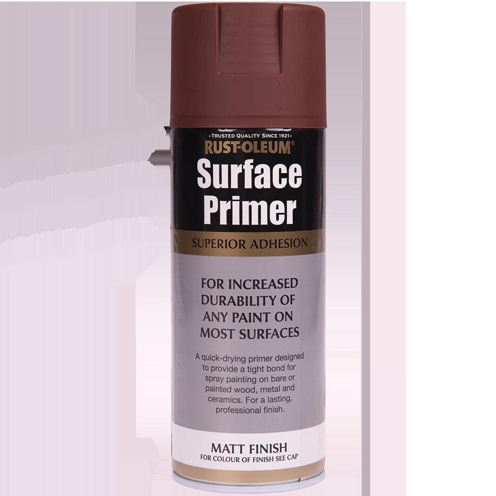 Spray universal primer/grund Rust-Oleum, mat, rosu, 400 ml mathaus 2021
