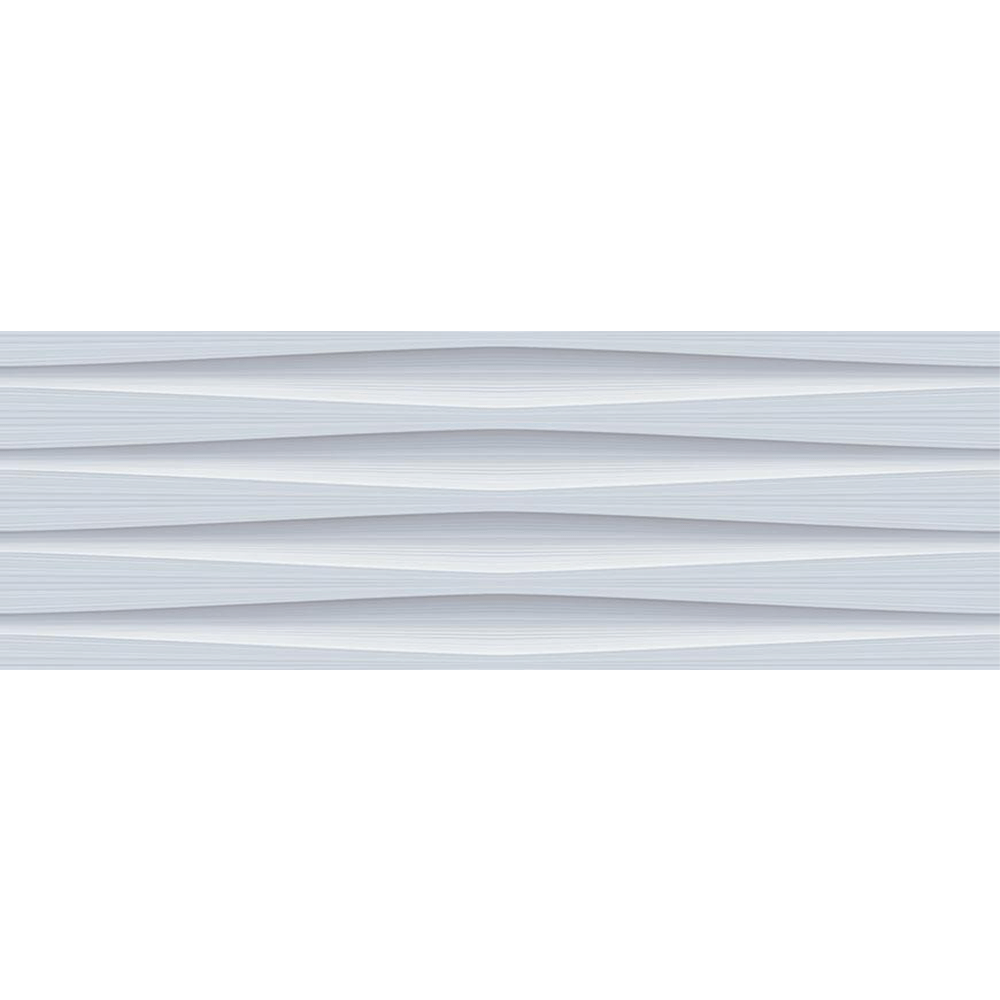 Faianta Baleno Aqua LT gri, rectificata, lucioasa, 25 x 75 cm imagine MatHaus.ro