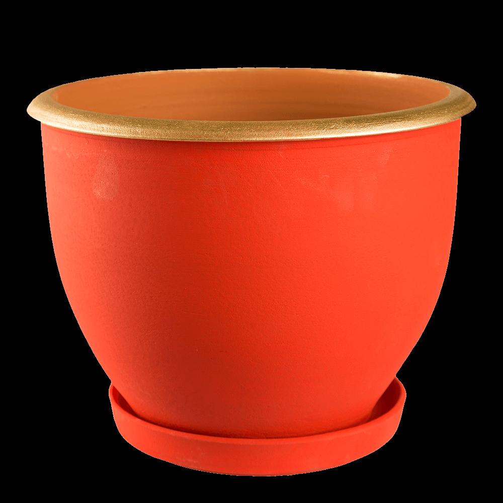 Ghiveci suport cu guler, 25 cm imagine MatHaus.ro