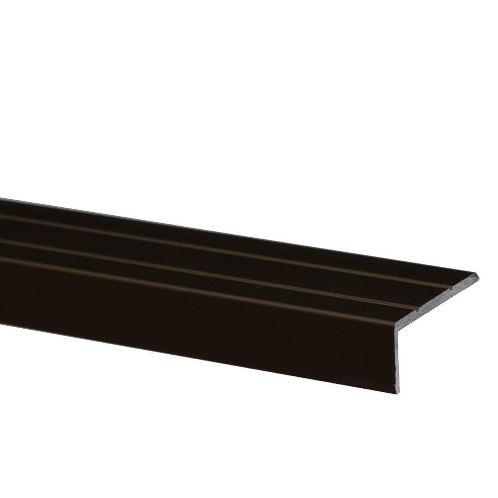 Profil pentru treapta cu surub Set Prod S46 cu latime 25 mm, bronz, 1 m imagine 2021 mathaus