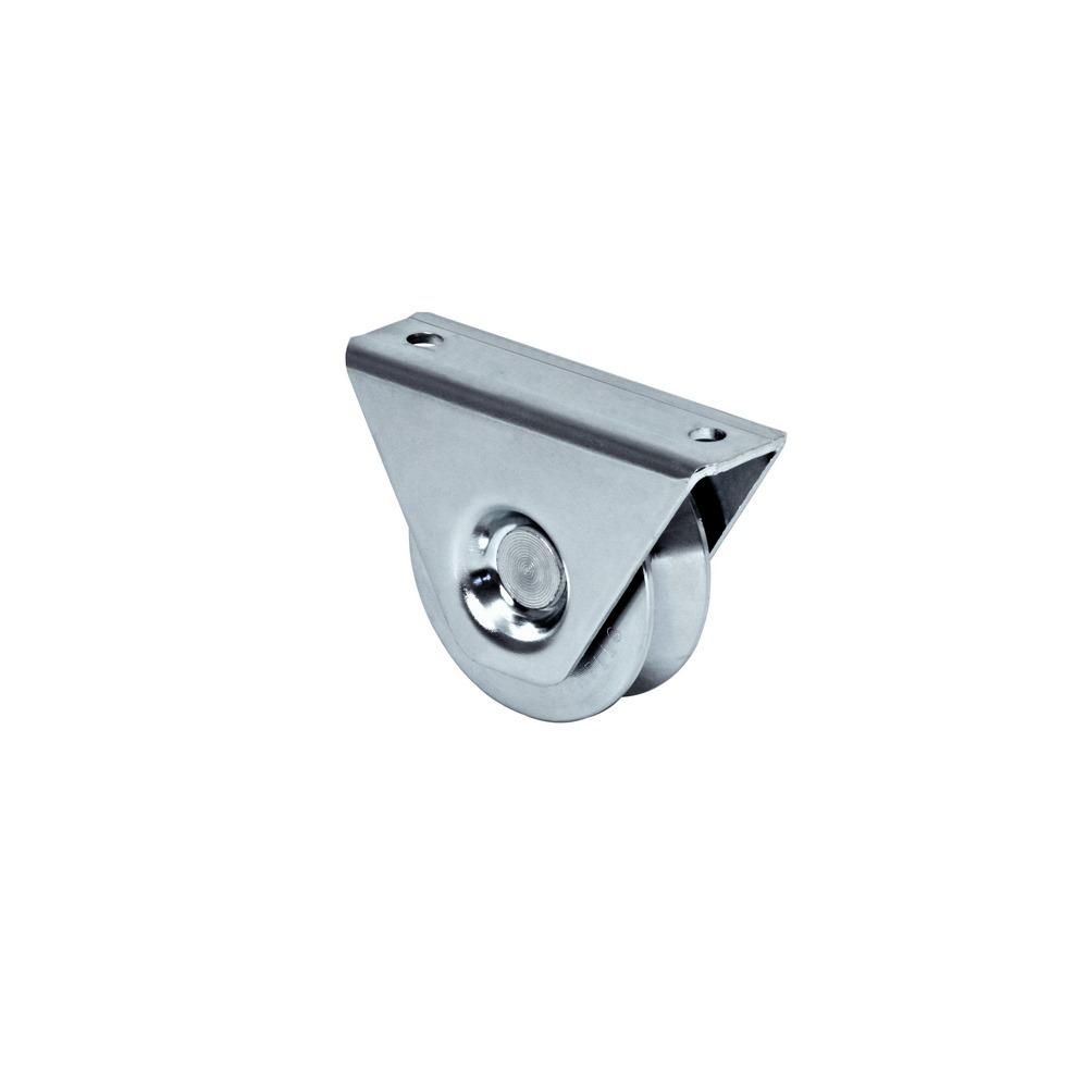 Rola aplicata cu rulment pentru porti culisante, profil V, Ø 98mm