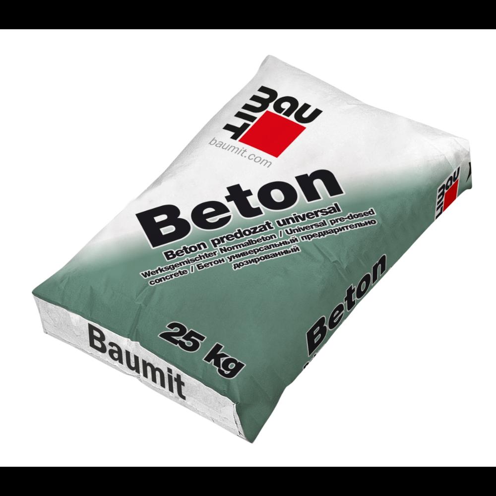 Beton predozat universal uscat, Baumit, interior / exterior, 25 kg mathaus 2021