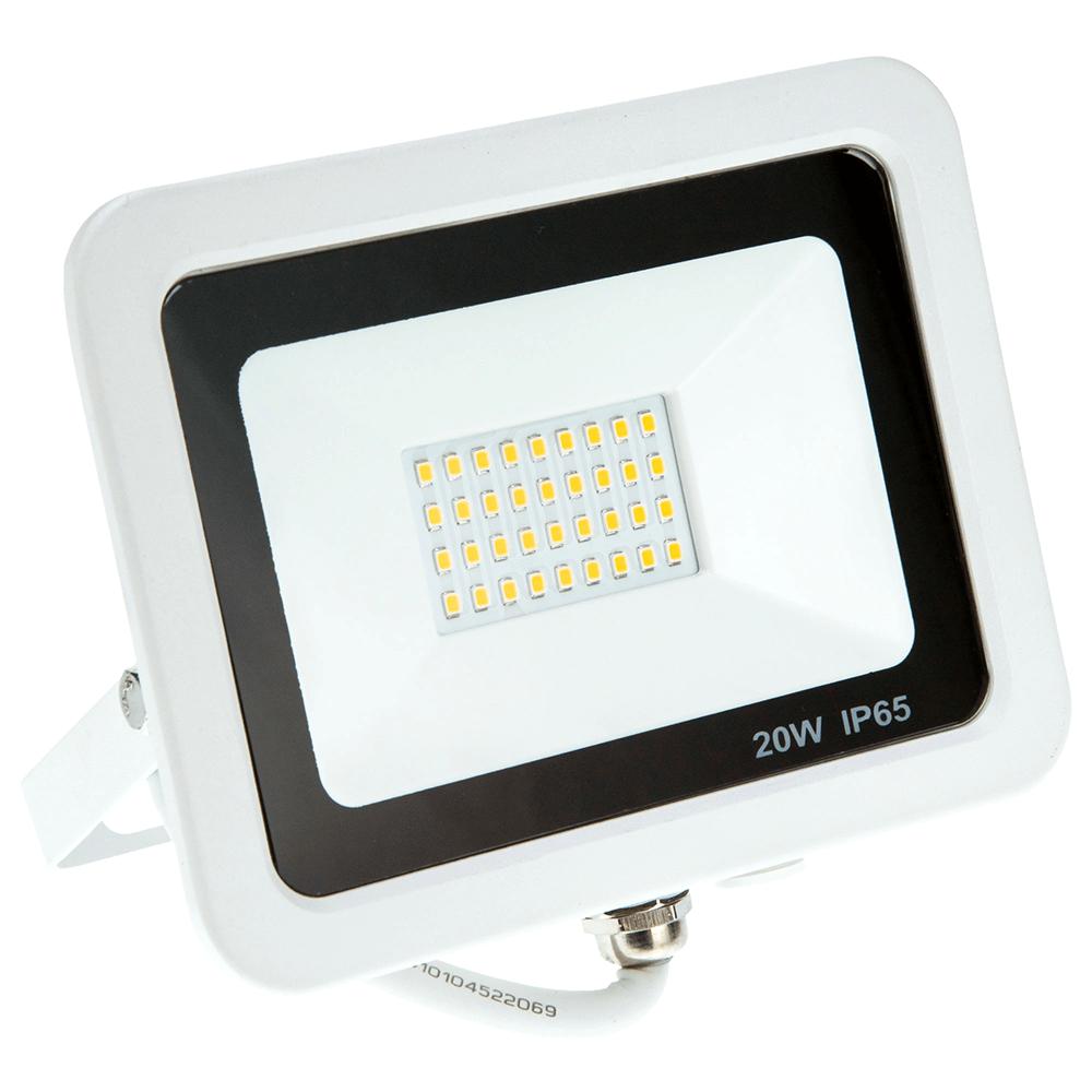 Proiector LED Hepol Venus, IP65, 20 W, alb, 3000 K imagine 2021 mathaus
