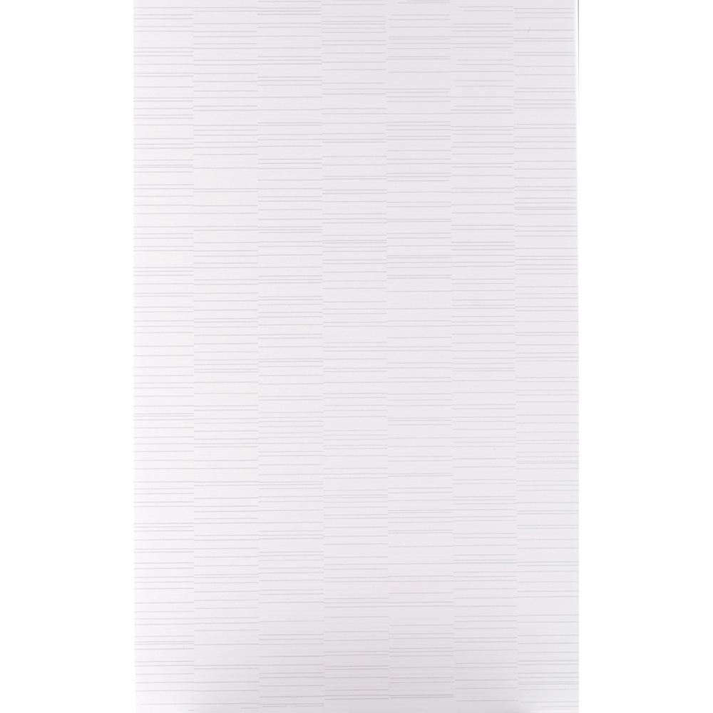 Faianta Kai Ceramics Linea, alb, aspect modern, lucioasa, 25 x 40 cm mathaus 2021