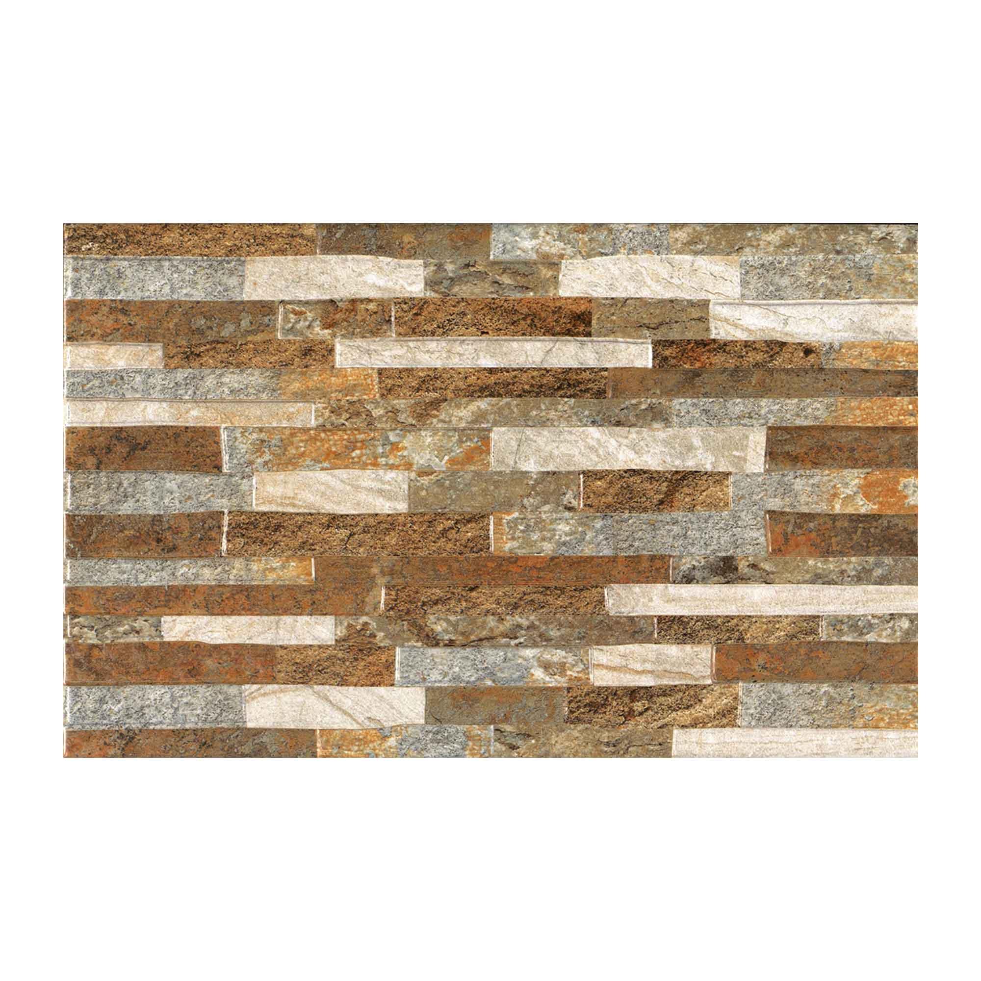 Faianta Cesarom Carving maro, finisaj mat, dreptunghiulara, 25,2 x 40,2 cm imagine 2021 mathaus