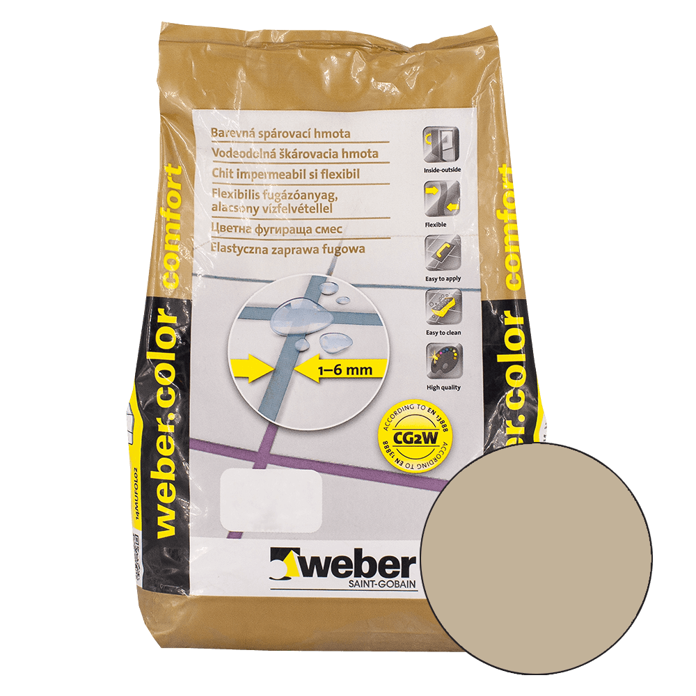 Chit de rosturi Weber Color Comfort, nutt, 2 kg imagine 2021 mathaus