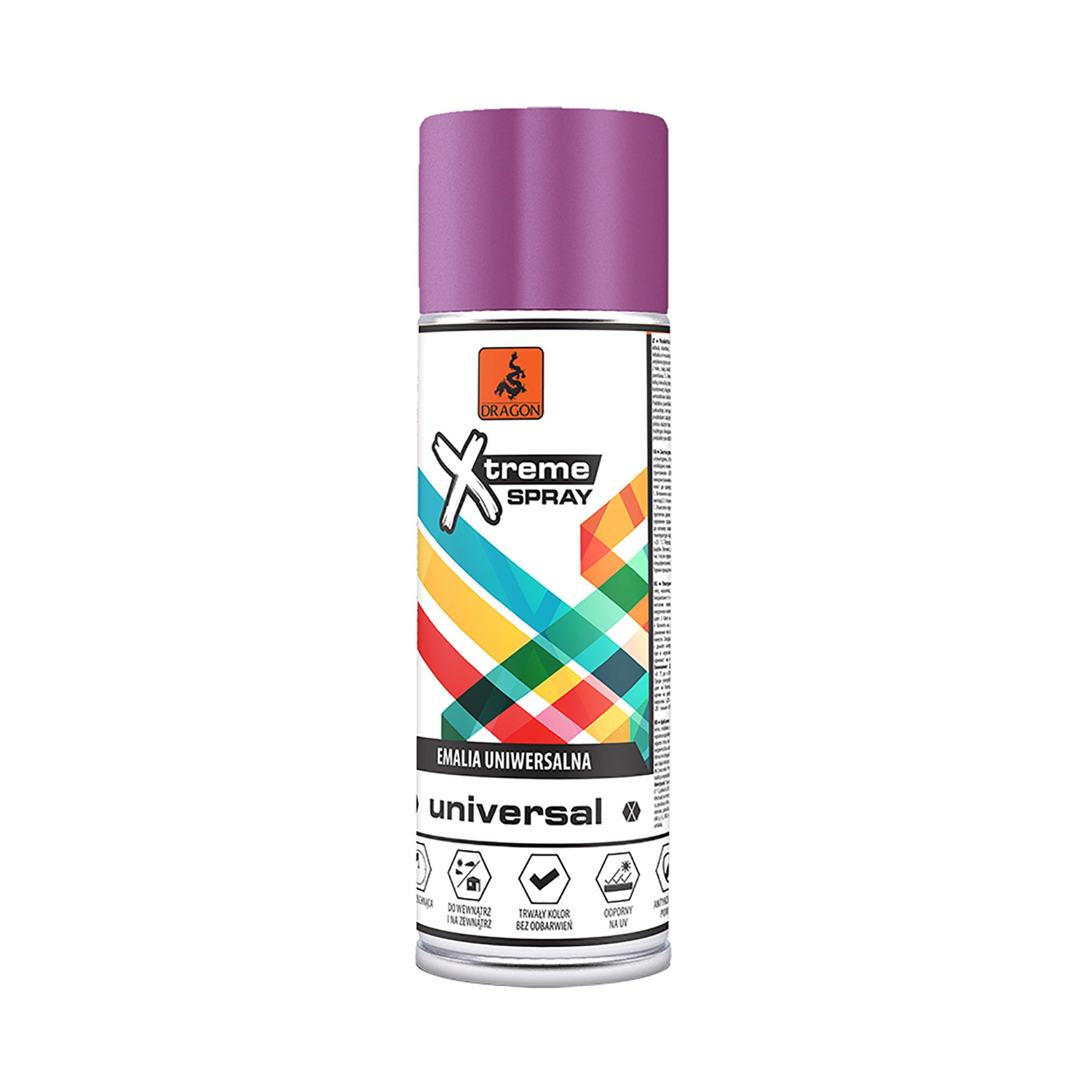 Spray universal Dragon Xtreme, lucios, mov-lila RAL4005, 400 ml imagine MatHaus.ro