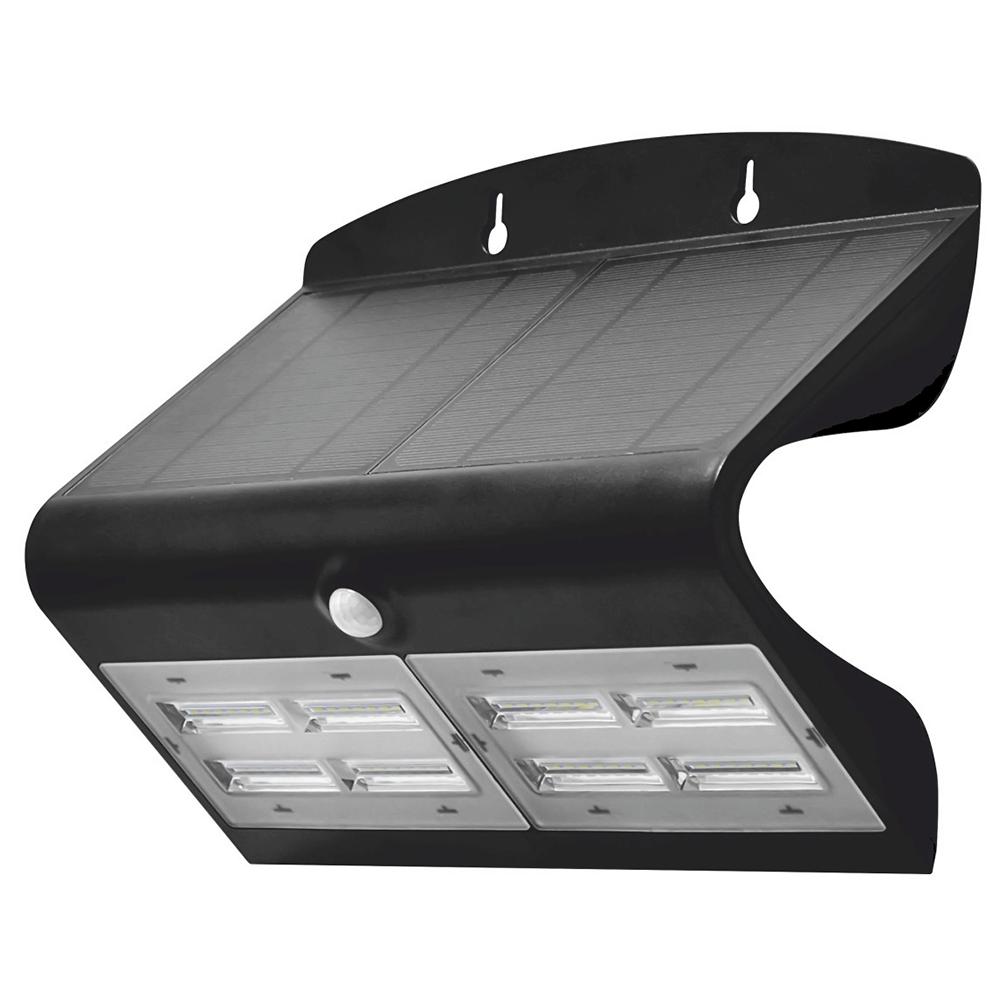 Aplica solara Butterfly LY-5013, 1x LED, lumina rece, 6,8W, 220 mm imagine 2021 mathaus