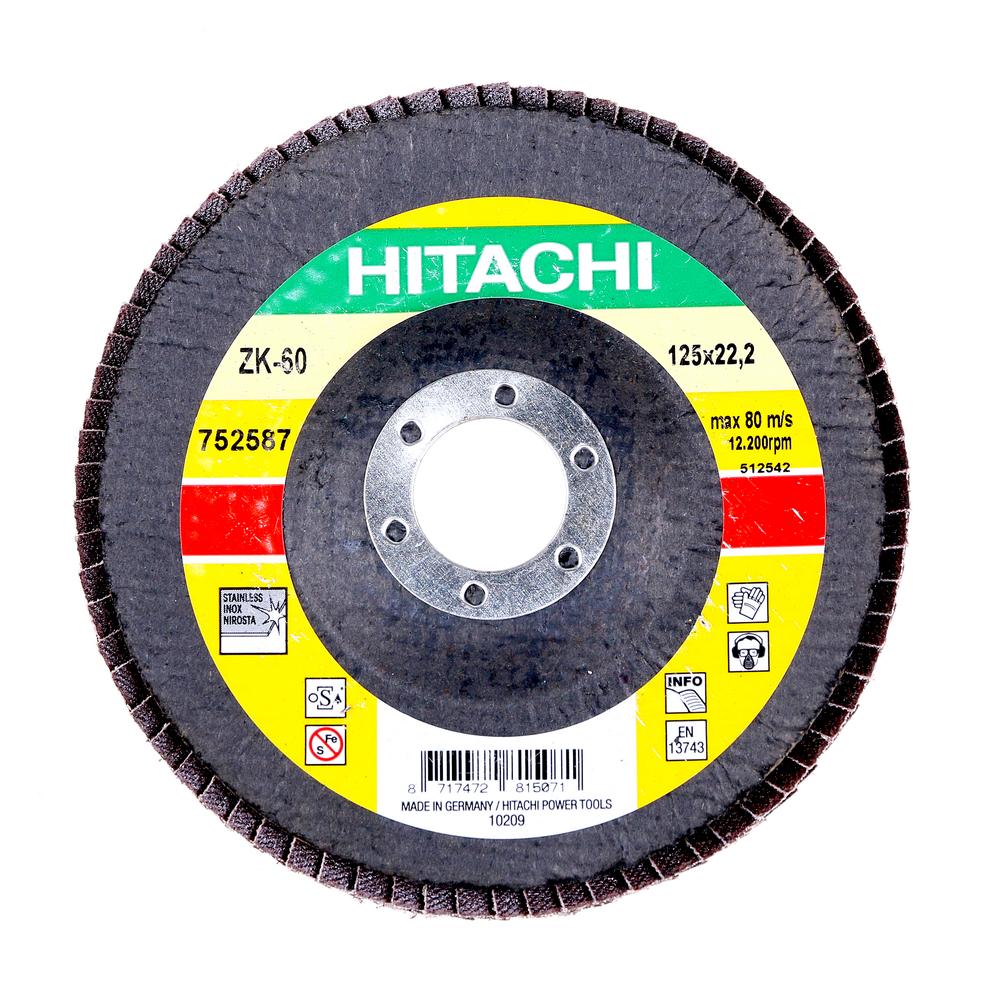 Disc Flapsuri Pentru Slefuit Hitachi 752587 125 X 22,2 X 9 mm mathaus 2021