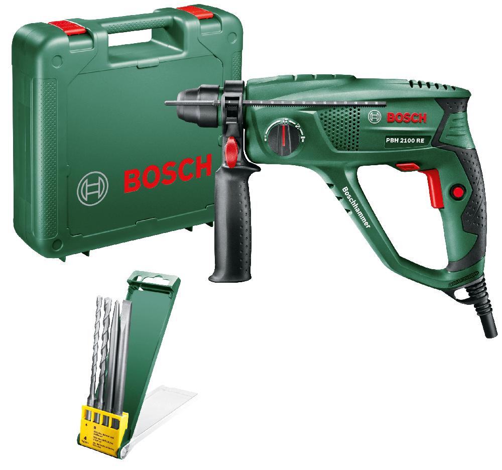 Ciocan rotopercutor Bosch PBH 2100RE, SDS+, 550 W, 5800 percutii/minut
