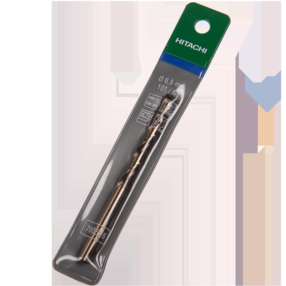 Burghiu Hikoki HSS-Co, mandrina standard, pentru metal, 6,5 mm mathaus 2021