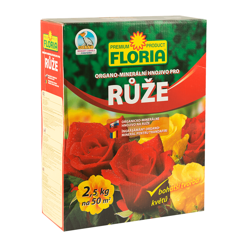 Ingrasamant organic pentru trandafiri Floria, 2.5 kg